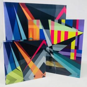 Multiple Sized Acrylic Blocks