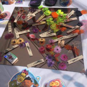 Uas At The Frida Kahlo Art Show And Friducha Market The Urban Art Shop - Decor-uas