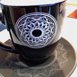 Dishware Engraving and Printing