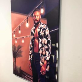 Stretched Printed Art on Canvas
