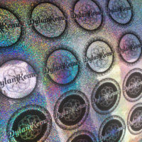 Cut Holographic Sticker Sheets